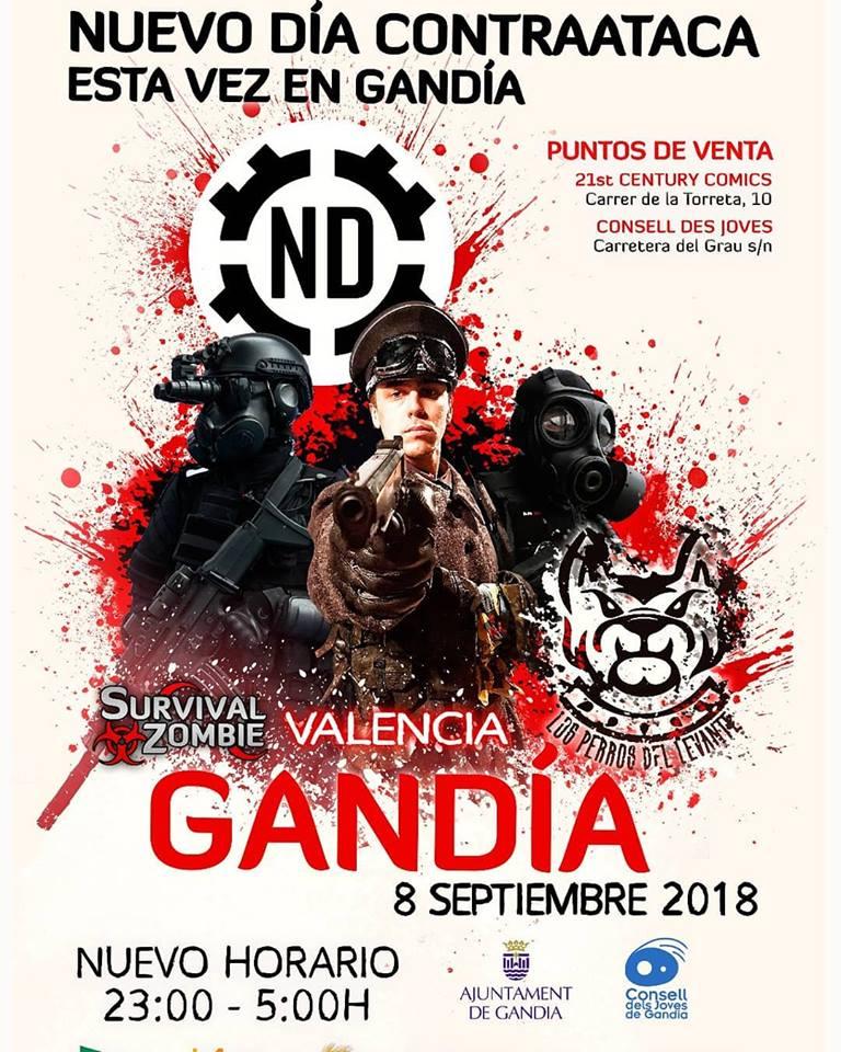 Survival Zombie Gandia 2018-1
