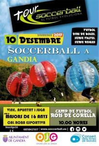 Tour SoccerBall Gandia 10 desembre